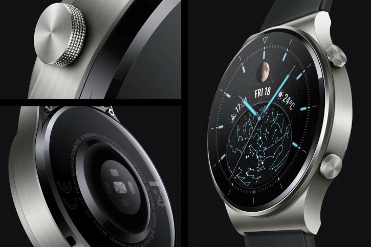 Анонс Huawei Watch GT2 Pro - две пары часов из премиальных материалов