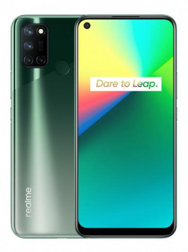 Дизайн бюджетного Realme 7i на качественных рендерах в двух цветах