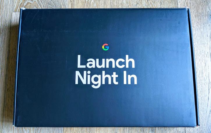 Google разослала вкусняшки для просмотра презентации Pixel 5