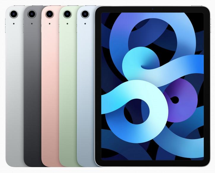 Анонс iPad Air: первый в мире 5-нм чипсет, Pro-дизайн и Touch ID сбоку