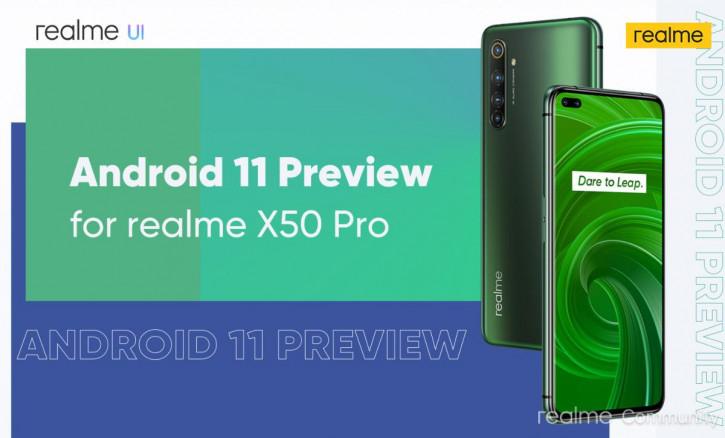 Realme X50 Pro первым cреди смартфонов бренда получил Android 11
