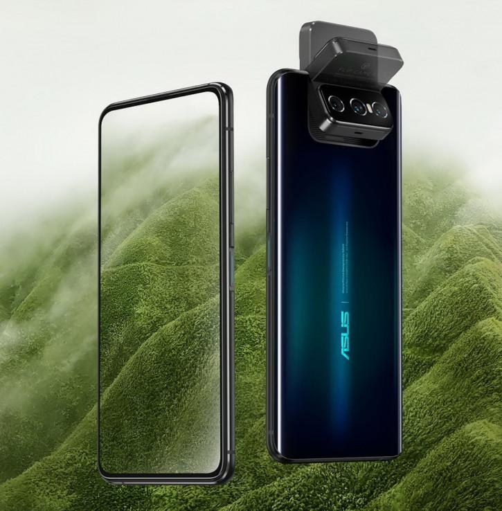 Полная разборка ASUS Zenfone 7 Pro с поворотной камерой на видео