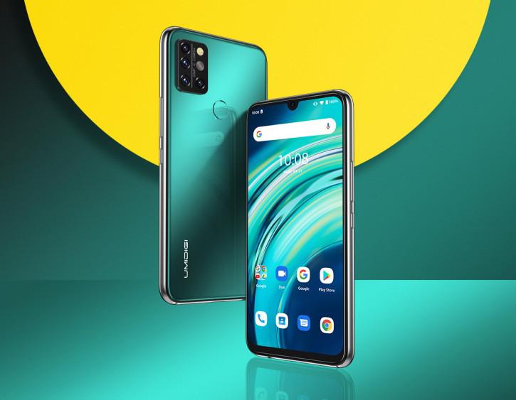 UMIDIGI А9 Pro - сбалансированный смартфон с термометром за $120