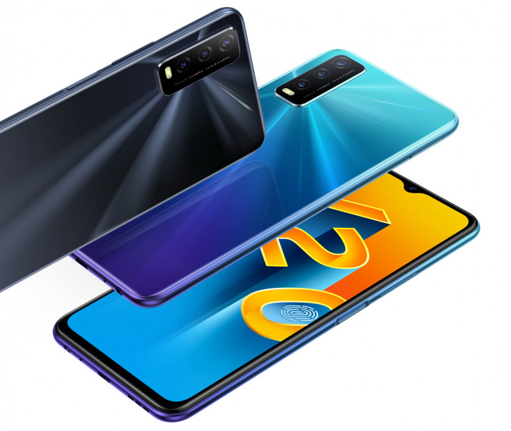 Vivo Y20 приходит в Россию: Snapdragon 460 и 5000 мАч по низкой цене