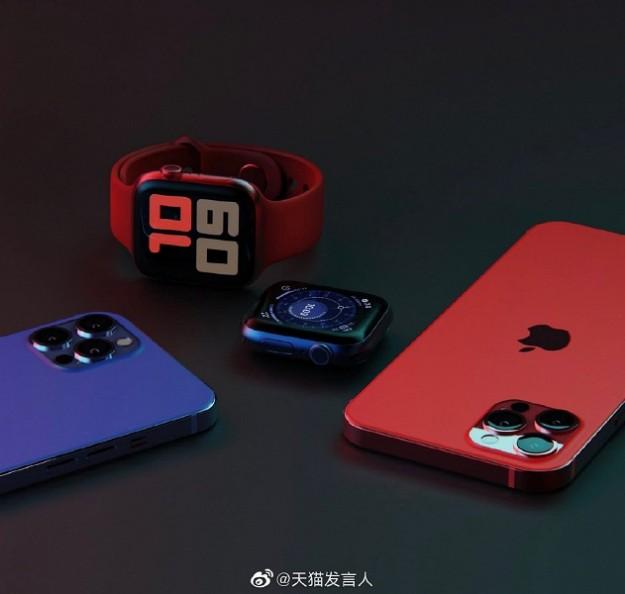 Китайский гигант уже показал iPhone 12 Pro Max в двух цветах и назвал дату начала приёма предзаказов