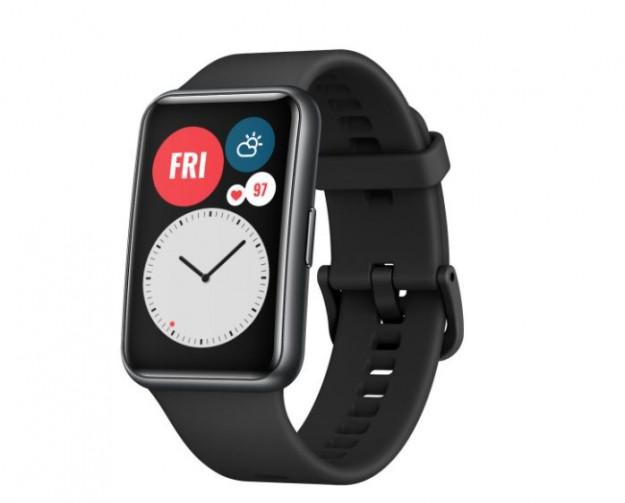 Huawei анонсирует начало продаж фитнес-часов Huawei Watch Fit  в Украине
