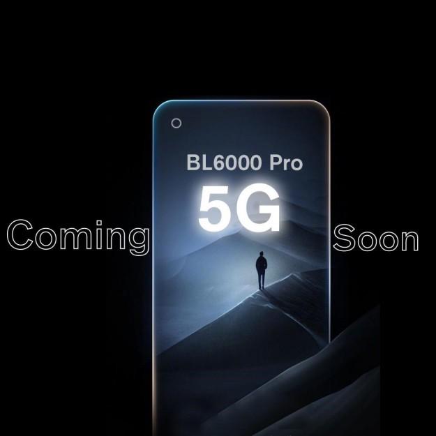 В ноябре Blackview запускает на INDIEGOGO первый в мире 5G защищенный смартфон BL6000 Pro