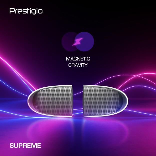 Новинка от Prestigio! Supreme – мощная колонка 2-в-1 на 16 Вт