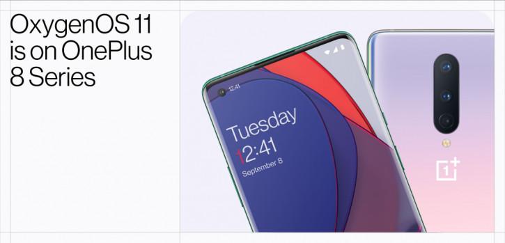 OnePlus снова первая: OnePlus 8 и 8 Pro начинают получать Android 11