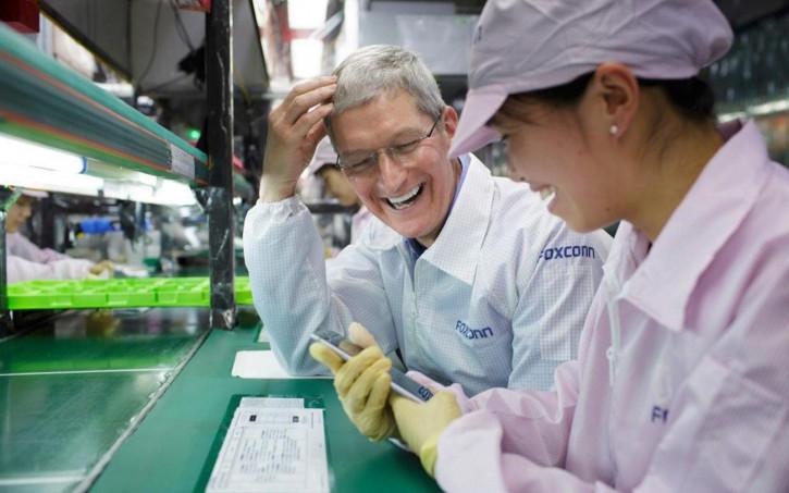 Производство iPhone 12 вредит экологии китайских городов