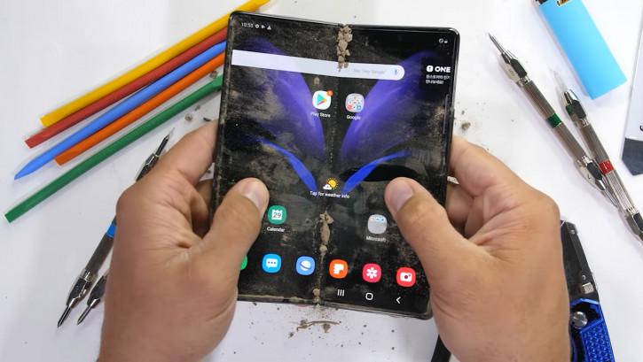 Samsung Galaxy Z Fold 2 прошел тесты на прочность: выводы сделаны