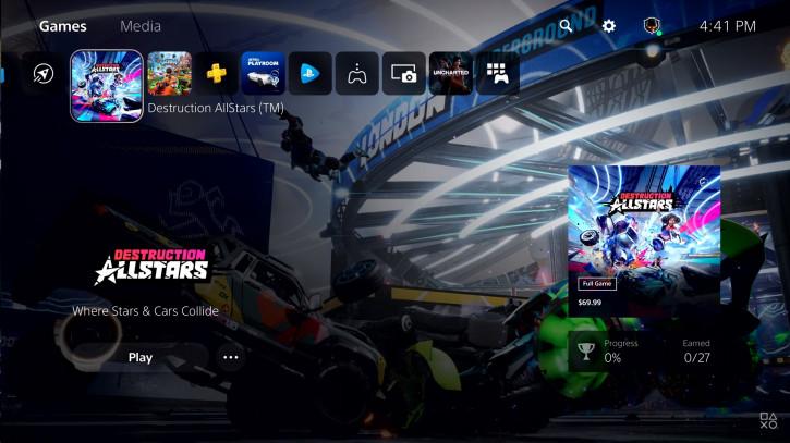 Sony познакомила пользователей с интерфейсом PlayStation 5 (видео)