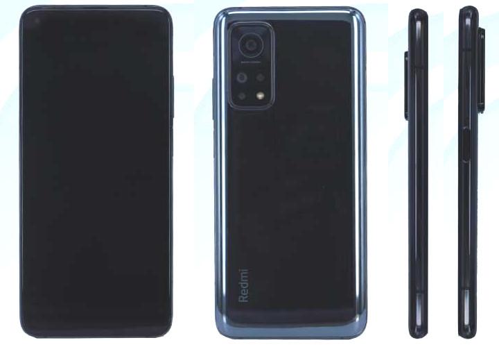 Xiaomi Redmi K30S со всеми подробностями и фото из TENAA