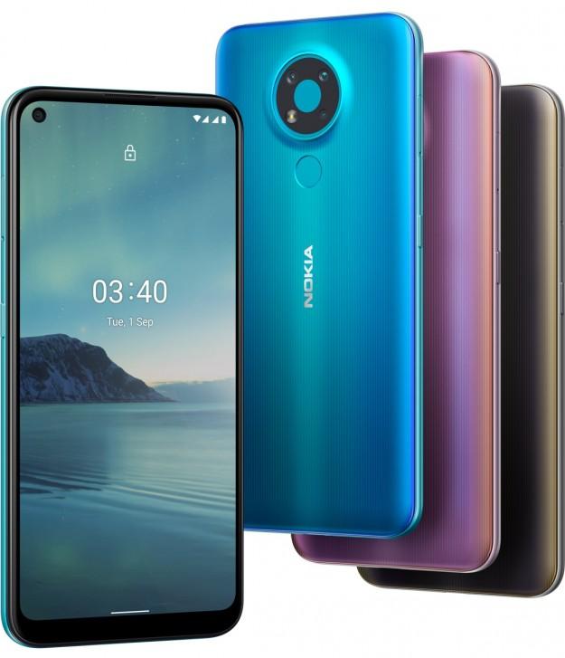 В Украине начались продажи Nokia 3.4 – смартфона доступной ценовой категории с поддержкой NFC