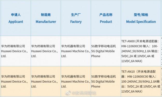 Huawei Mate X2 – быть! Сертификация раскрыла важную деталь новинки