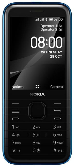 Nokia 8000 4G - стильный кнопочный телефон с поддержкой 4G в Украине за 2599 грн