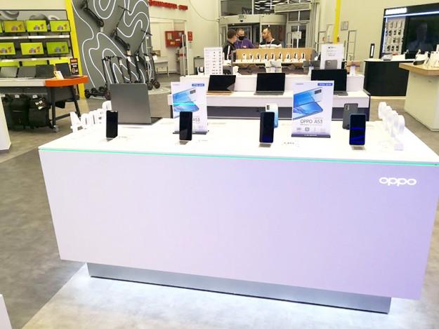 OPPO AED Украина открывают новый shop-in-shop в Киеве