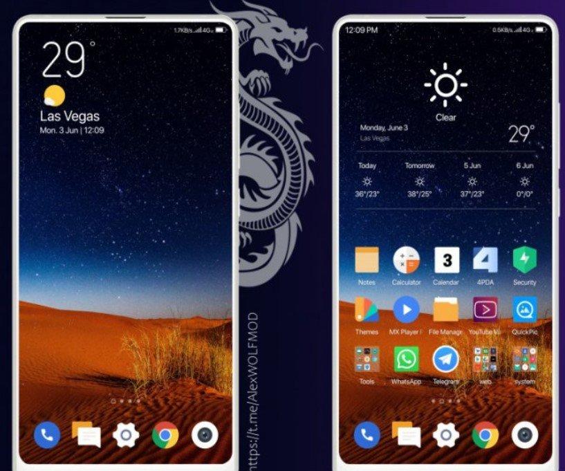 Новая тема Wl для MIUI 12 порадовала фанатов Xiaomi