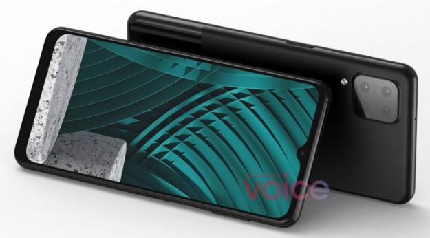 Samsung Galaxy M12 в дизайне прототипа Google Pixel 5 на рендерах