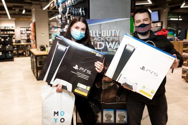 Сеть MOYO первая в Украине начала выдачу предзаказов PlayStation 5