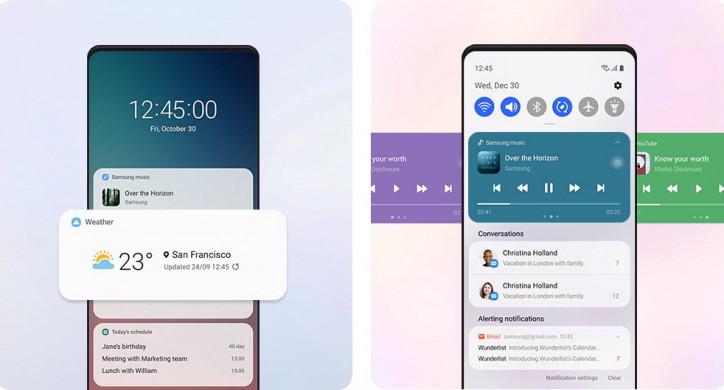 Samsung раскрыла часть фишек One UI 3.0 и назвала сроки релиза
