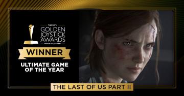The Last Of Us: Part II и ее авторы забрали 6 наград Golden Joystick