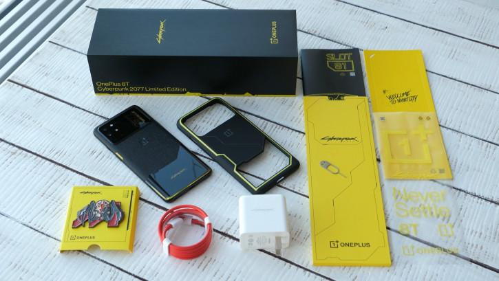 ВИДЕО: распаковка OnePlus 8T Cyberpunk 2077 - не такой, как McLaren