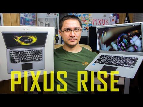 Видео обзор Pixus Rise - впечатления, тест подключения второго экрана и установки SSD