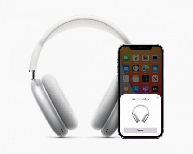 Apple представила первые полноразмерные наушники AirPods Max