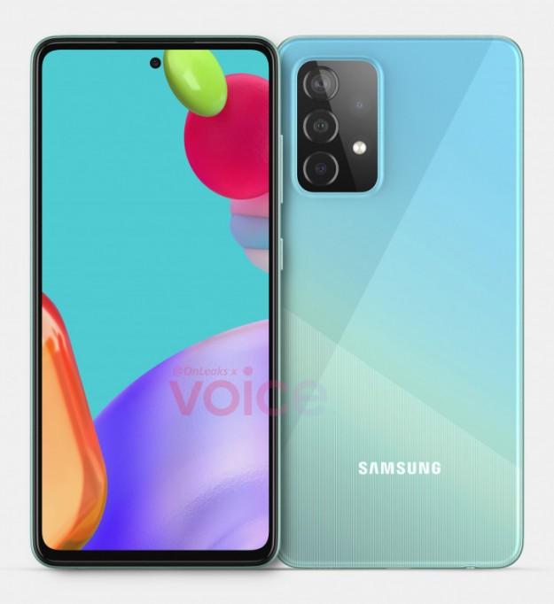 Первый взгляд на будущий хит: дизайн и детали Samsung Galaxy A52 5G