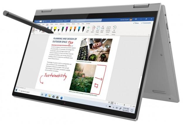 Посмотреть на ежедневные задачи под углом 360°: новинка для повседневного использования Lenovo ideapad Flex 5