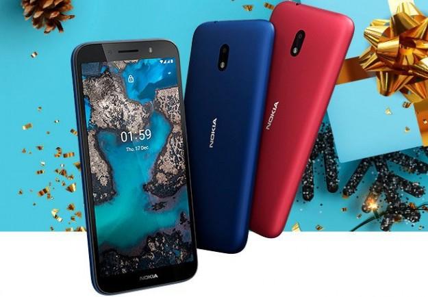 Представлен самый доступный смартфон Nokia C1 Plus