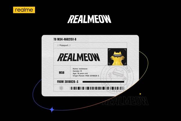 Представляем realmeow. realme презентовала  загадочный и «взрывоопасный»  талисман