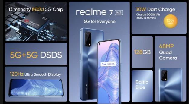 Все, что нужно знать о доступном Realme 7 5G для Европы