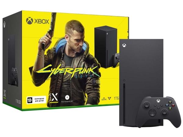 М.Видео отмечает релиз Cyberpunk 2077 продажей редкой Xbox Series X