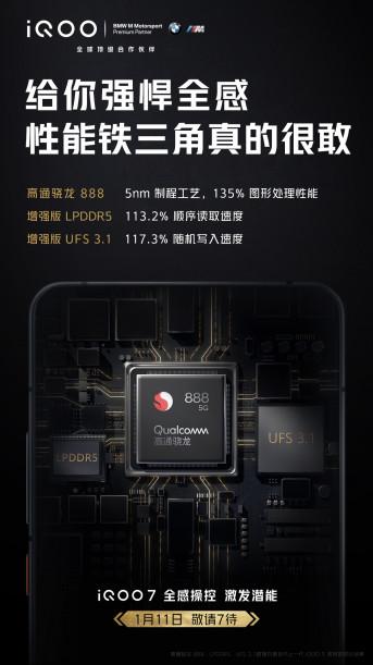 Официально: дата анонса Vivo IQOO со Snapdragon 888 и дизайном BMW