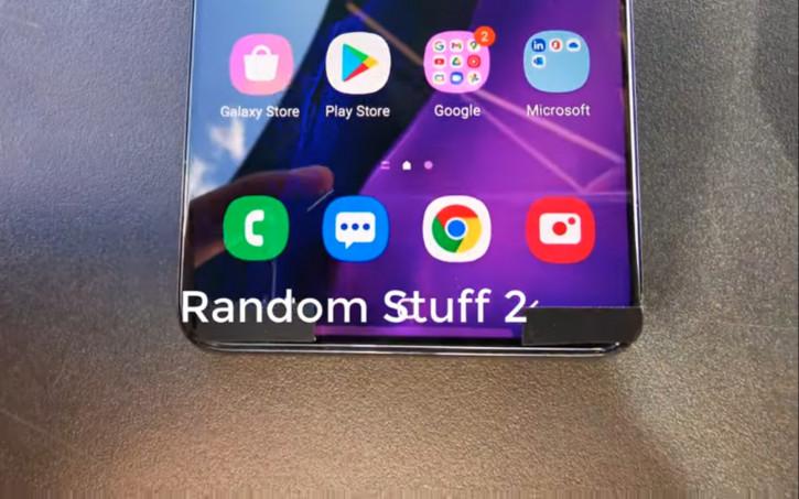 Samsung Galaxy S21+ впервые на видео: узкие рамки и три камеры