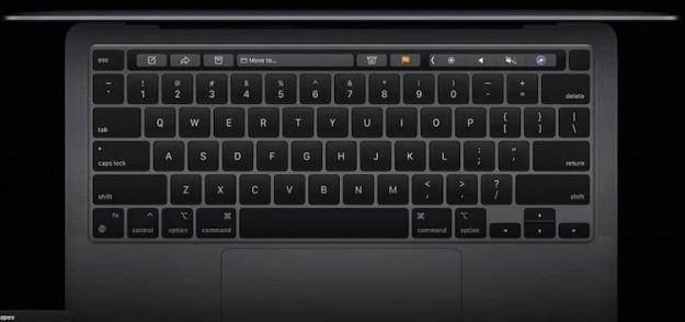 Будущие MacBook получат клавиатуры с маленьким дисплеем в каждой клавише