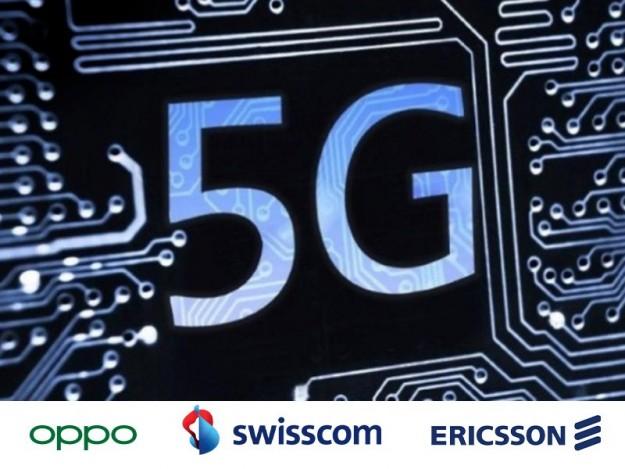OPPO, Swisscom и Ericsson увеличивают усилия для развития 5G технологий благодаря автономным голосовым звонкам и передаче данных