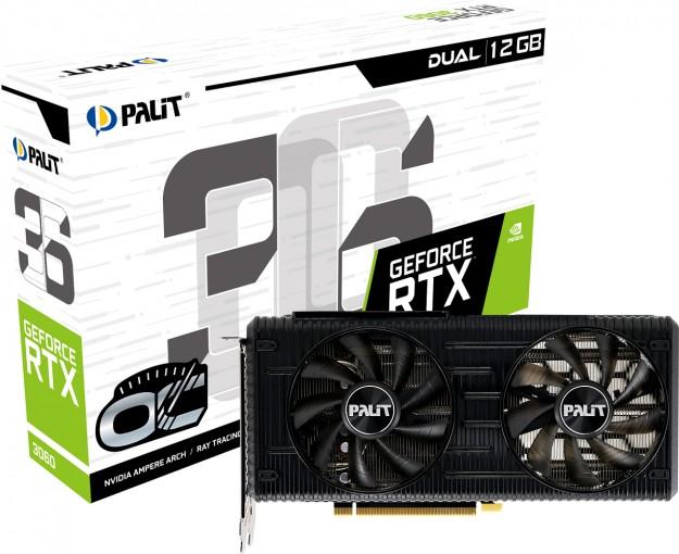 Palit представляет серии графических карт GeForce RTX 3060 Dual и StormX