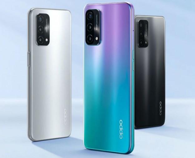 Представлен смартфон OPPO A93 5G с 90-Гц дисплеем и батареей на 5000 мАч