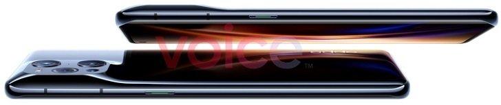 OPPO Find X3 Pro показали на качественных изображениях