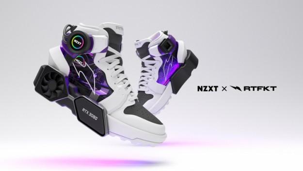 NZXT и производитель обуви представили компьютер с GeForce RTX 3080 в виде кроссовка