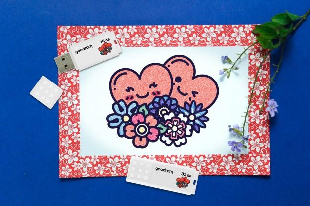 Память GOODRAM, наполненная любовью - флэш накопители посвященные Дню Валентина