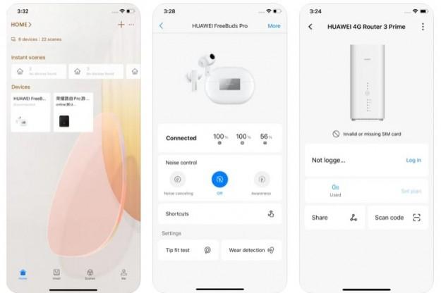 Приложение Huawei AI Life стало доступным в AppStore