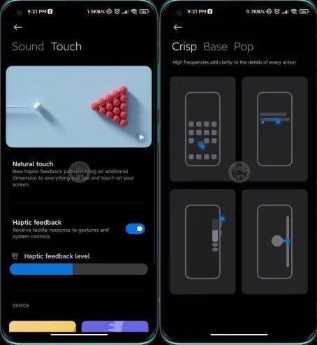 Xiaomi делает технологию Mi Haptic более реалистичной с MIUI 12.5