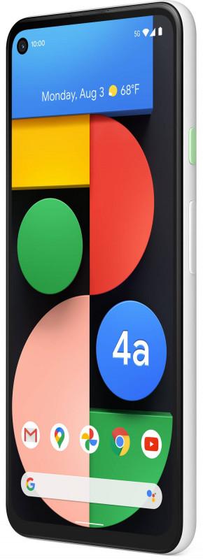 Белый Google Pixel 4a 5G в продаже уже в январе