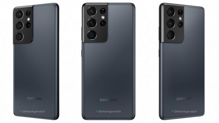 """Больше деталей по """"кастомным"""" расцветкам Samsung Galaxy S21 Ultra"""