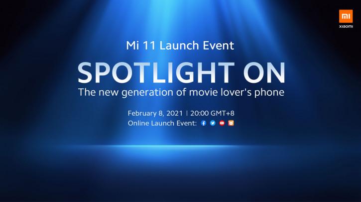 """Официально: Международный Xiaomi Mi 11 """"для киноманов"""" уже в феврале"""