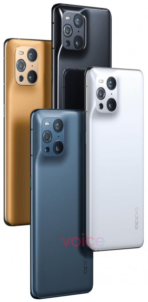 """OPPO Find X3 Pro впервые на """"официальных"""" пресс-фото"""
